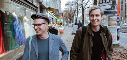 Till und Moritz, Fotocredits: Daniel Dittus